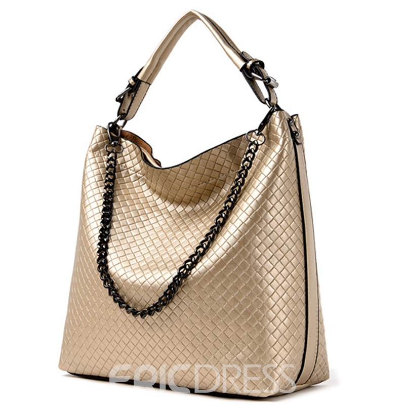 Lastest Knitted Embossed Women Handbag
