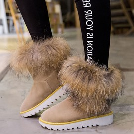 Ericdress Popular Furry Snow Boots