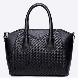Ericdress Casual Knitted PU Handbag