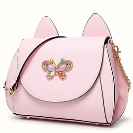 Ericdress Stereo Opal Butterfly Decorated Handbag