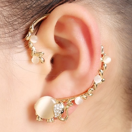 Ericdress Fashion Elephant Design Ear Cuff