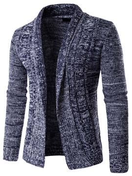 Ericdress Stand Collar Cardigan Vogue Men's Knitwear