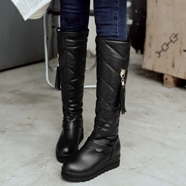 Ericdress Pretty Tassels Knee High Boots