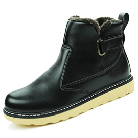 Ericdress PU Short Floss Men's Martin Boots