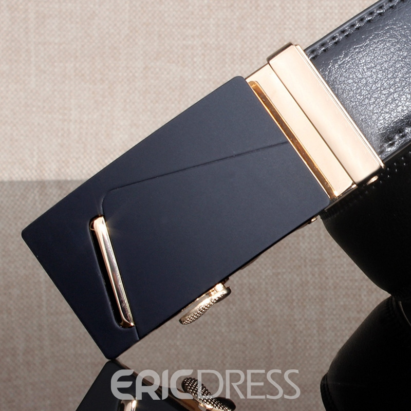 Ericdress Men's Automatic Buckle Leather Belt