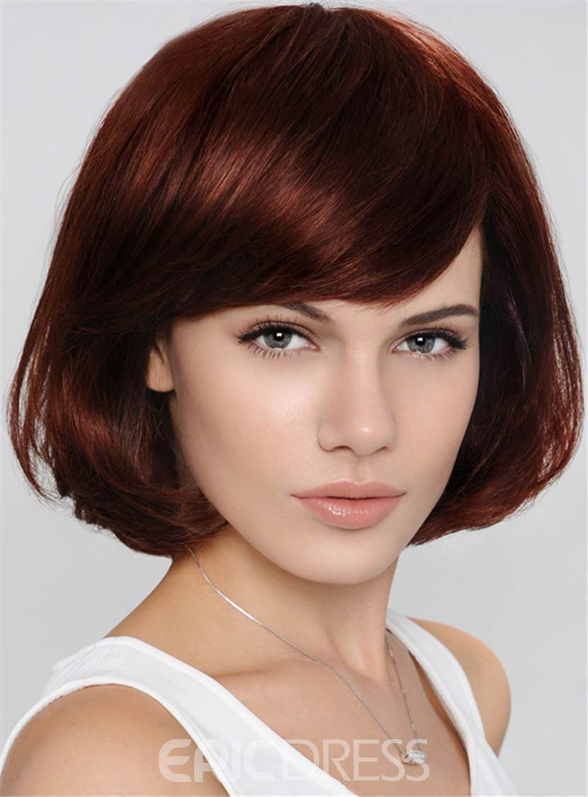 Ericdress Bob Hairstyle Short Wavy Capless Synthetic Hair Wig 10 Inches 12810180
