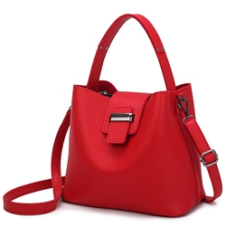 Ericdress Temperament Microfiber Leather Bucket Handbag