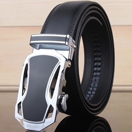 Ericdress Leather Men's Automatic Buckle Belt