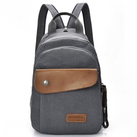 Ericdress Multifunction Canvas Travel Men's Bag