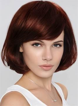 Ericdress Bob Hairstyle Short Wavy Capless Synthetic Hair Wig 10 Inches