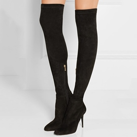 Ericdress Sexy Point Toe Stiletto Heel Over the Knee Boots