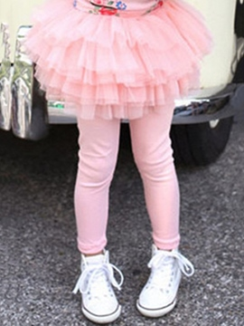 Ericdress TUTU Skirt Girls Warm Thick Leggings