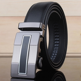 Ericdress Hot Genuine Automatic Buckle Men's Belt