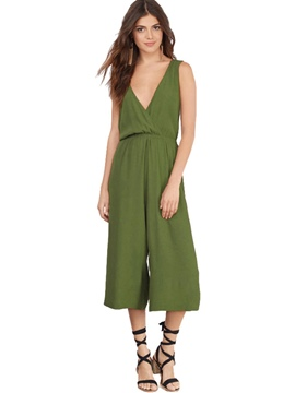 Ericdress Backless Suspenders High-Waist Jumpsuits Pants