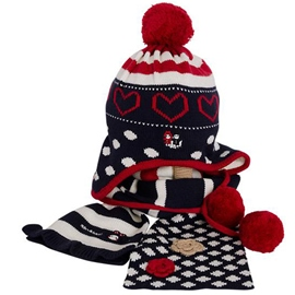 Ericdress Two-Piece Warm Kid's Hat