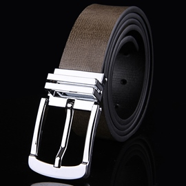 Ericdress Pin Buckle Leather Belt for Business Men