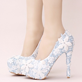 Ericdress Lace Appliques Wedding Shoes