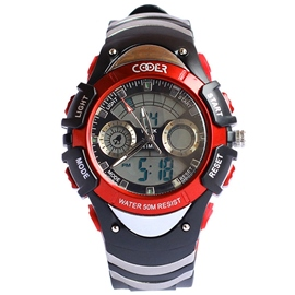 Ericdress Luminous Electronic Design Men's Sports Watch