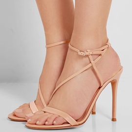 Ericdress Pretty Open Toe Strappy Buckle Stiletto Sandals
