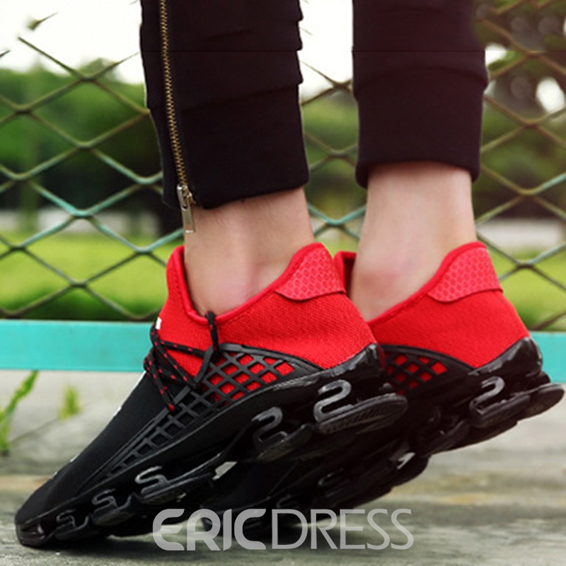 Ericdress Cozy Contrast Color Men's Athletic Shoes