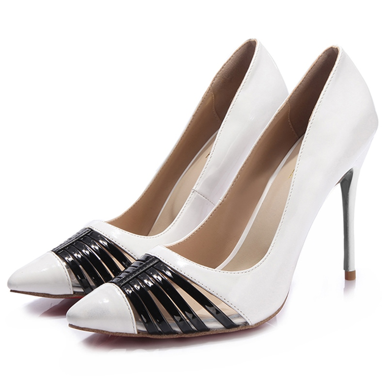 Ericdress Charming Pointed Toe Ultra-High Heel Pumps