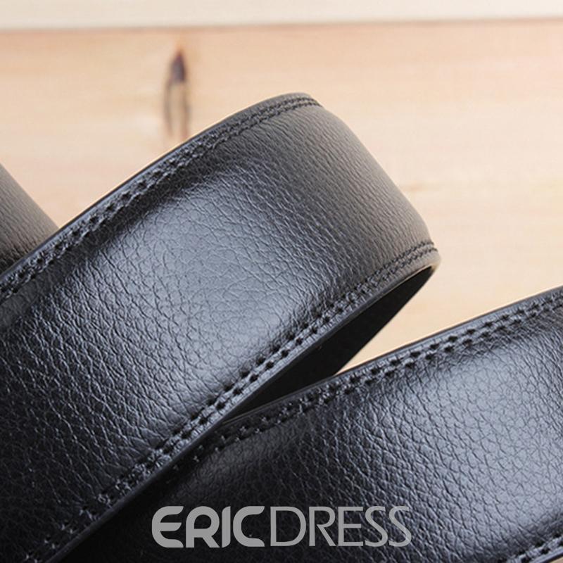 Ericdress Business Men's Belt with Automatic Buckle