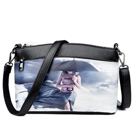 Ericdress Stylish Painting Print Shell Crossbody Bag