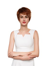 Ericdress Cool Short Straight Hair Human Capless Wig 10 Inches