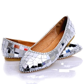 Ericdress Rhinestone Flat Heel Wedding Shoes