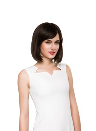 Ericdress Medium Straight Bob Human Hair Capless Wig 14 Inches