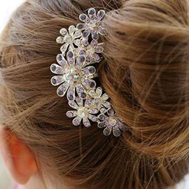 Ericdress Shining Ultra Violet Diamante Hair Accessories for Women