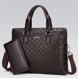 Ericdress Simple Grained Pattern Men's Bag