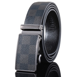 Ericdress Automatic Buckle Genuine Leather Men's Belt