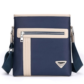 Ericdress Classic Color Block Men's Business Shoulder Bag