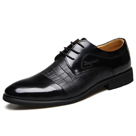 Ericdress Business Patchwork Lace up Men's Oxfords