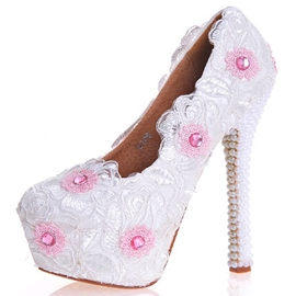 Ericdress Rhinestone Ultra-High Heel Wedding Shoes