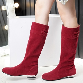 Ericdress Lovely Girl Rhinestone Knee High Boots