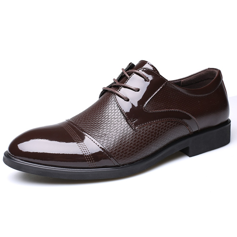 Ericdress Hot Selling Patchwork Lace up Mens Oxfords 12689951