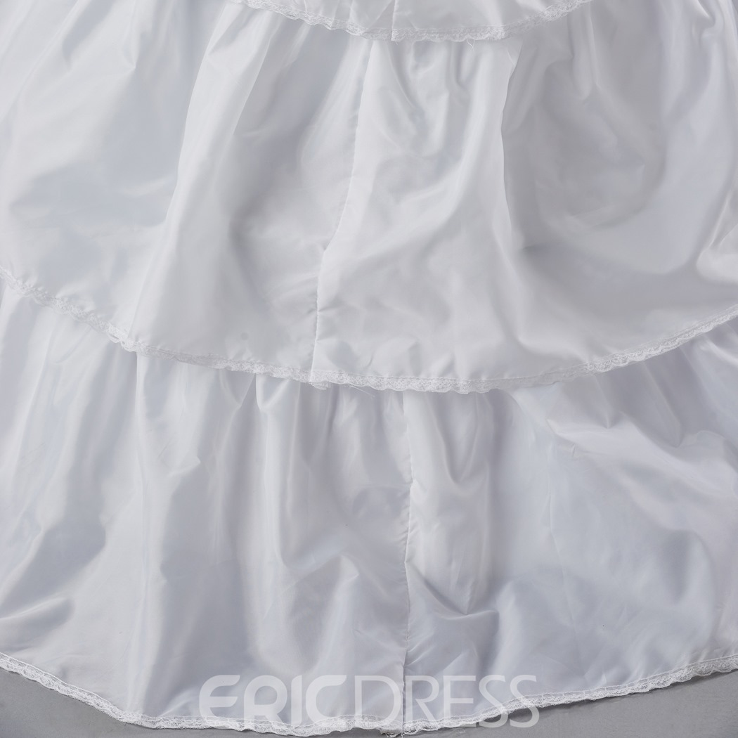 Perfect White Organza Wedding Petticoat
