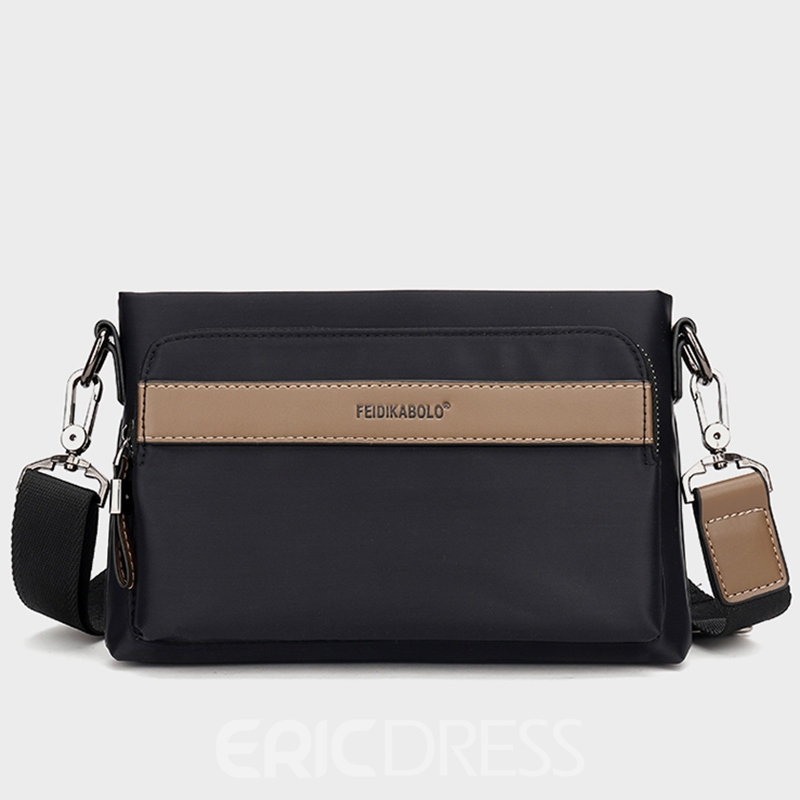 Ericdress Casual Plaid Patchwork Men's Bag