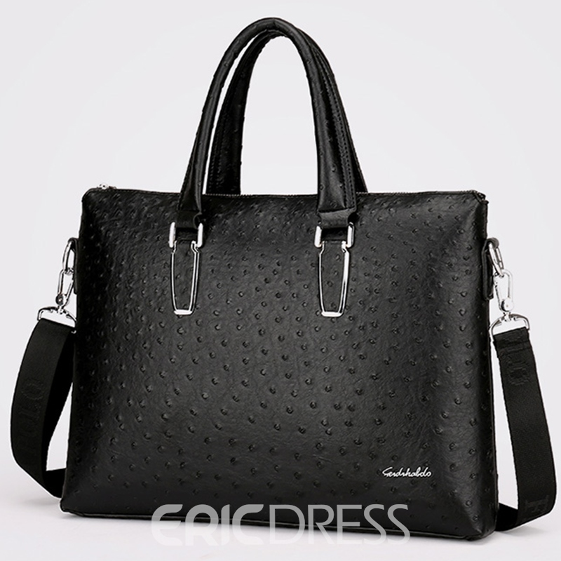 Ericdress Casual Ostrich Pattern Men's Handbag