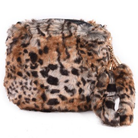 Ericdress Lovely Round Fuzzy Crossbody Bag
