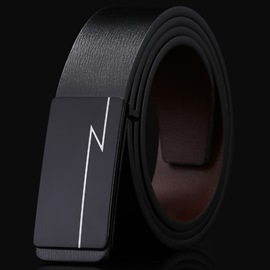 Ericdress Business Style Men's Leather Belt
