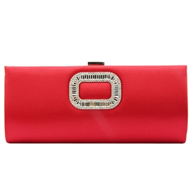 Ericdress Sweet Rectangle Diamond Decorated Evening Clutch
