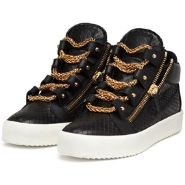 Ericdress Round Toe Chain Mid-Cut Upper Men's Sneakers