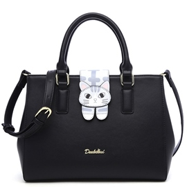 Ericdress Lovely Cat Print Handbag