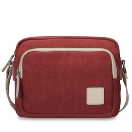 Ericdress Simple Vintage Canvas Crossbody Bag