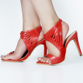 Ericdress Open Toe Ultra-High Heel Stiletto Sandals