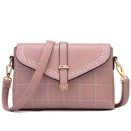 Ericdress Leisure Arrow Belt Plaid Crossbody Bag