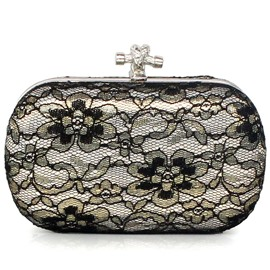 Ericdress Lace Floral Evening Clutch